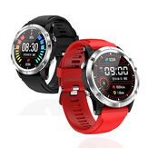 Bakeey T5 Heart Rate Blood Oxygen Monitor Watch Multi-sport Modes Run Route Track Weather Display Smart Watch