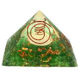 Piramit Kristal Yoga Enerji Taş Meditasyon Şifa Taş Ev Dekorasyonu