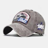 قبعة بيسبول كاجوال للرجال مصنوعة من القطن والتطريز