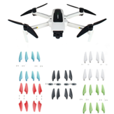 Foldable Propeller Props Quick Releases 5 Colors Blades for Hubsan ZINO 2 RC Quadcopter