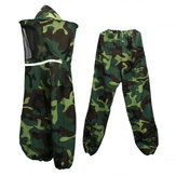 Camouflage Jacket Pants Veil Bee Protecting Hat Beekeeping Suit Protectivench