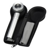 Hand Held 45x Magnifying Glass Magnifier Loupe with Scale 3 Lights for Jewellery
