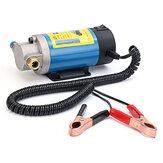 電動ポータブルDC 12Vトランスファーポンプエクストラクタサクションオイルフルイド水100W 1-4L / minポンプ
