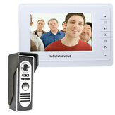 ENNIO SY819M11 7 inch TFT Video Deurtelefoon Doorbell Intercom Kit met 1 Camera 1 Monitor Night Vision