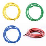 5 SZTUK 1M 12 AWG Drut silikonowy SR Wire Czerwony Czarny Żółty Niebieski Zielony