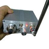 Montado 118-136 MHz Receptor de frequência de aviação Receptor de áudio AM Banda aérea + Bateria embutido + Antena + fone de ouvido T0976