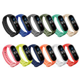 Bakeey Colorful Pure Color Silicone Watch Band Replacement Watch Strap for Xiaomi mi Band 5