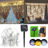 solare Apparecchiatura impermeabile alimentata due installazioni 300 LED Light Fair String Light per Natale
