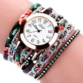 DUOYA XR1886 Retro Style Bracelet Watch