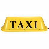12V Cab Roof Roof Sign Light Taxi Magnetische LED Lamp Waterdicht 12V Geel