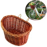 Trendy Style ProSource Fahrradkorb Bike Wicker Style Mit Riemen