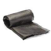 12 Inch Ancho Tejido de fibra de carbono Tejido liso 3K Tela de tejido liso