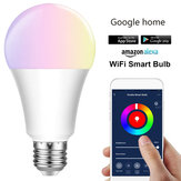 E27 E26 B22 RGBW Smart LED Ampoule 7W WiFi IOS Android Amazon Alexa Google Lamp AC85-265V
