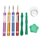 Novo Combinação Metal Screwdriver Repairtools Set Kits para iPhone