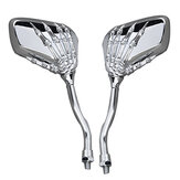 Skull Claw Rear View Mirrors for Motorcycle Har/Honda/Suzuki/Yamaha