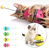 Pet Interactive Tumbler Toy Leaking Food Ball Toy Cat Stick Turntable Toy Funny Pet Training Tool