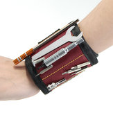 Opaska na nadgarstek magnetyczny Raitool ™ Opaska na nadgarstek do narzędzi do mocowania Opaski na nadgarstki Organizator uchwytu narzędziowego