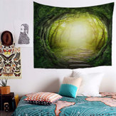 Fairy Forest colgante tapiz de pared bohemia Hippie Throw colcha decoración para el hogar