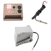 ESD5500E Speed Governor Speed Controller Board + MSP6729 Magnetic Speed Sensor + ADC120 Actuator
