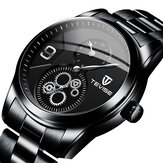 TEVISE T873 Chronograph Full Steel Men Wrist Watch Waterproof Automatic Mechanical Watch