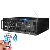 800W 110V 2Channel Equalizer Bluetooth Home Stereo Leistungsverstärker USB SD Remote