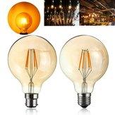 4W G95 E27 / B22 Vintage Retro Endüstriyel LED COB Edison Filament Akkor Aydınlatma Ampulü
