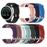 Bakeey 20 mm Silicona Textura multicolor Correa de repuesto Reloj inteligente Banda Para POLAR Ignite