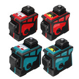 3D 12 Lines Green Blue Line Laser Level  360° Cross Self Leveling Engineer with Red Blue Shell