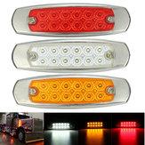12v LED lámpara de luz indicadora de marcador lateral para camión remolque camión camioneta autobús