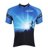Hombres Ciclismo Jersey Camisas de bicicleta Manga Ciclismo Jersey Moto Camisa de secado rápido