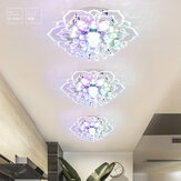 Modern Crystal LED Ceiling Light Fixture Pendant Lamp Lighting Chandelier 9W New