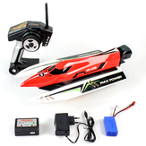 Wltoys WL915 2.4G Brushless de alta velocidade 45km / h Racing RC Boat Model Toys