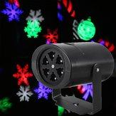 Bewegliche LED-Schneeflocke-Laser-Projektor-Disco-Stadiums-Partei-Verein-Beleuchtung-Lampen-Licht