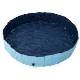 160x30 cm Katlanabilir Köpek Kürek Havuz Pet Köpek Yüzme Banyo Yıkama Küvet