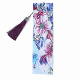 DIY Beaded Bookmarks 5D Diamond Painting Peacock Butterfly Flower Art Craft Embroidery Stitch Kit Handmade Gifts