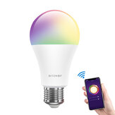 BlitzWolf® BW-LT21 RGBWW 10W E27 التطبيق ذكي LED ضوء Bulb Work with Amazon Alexa Google Assistant AC100-240V