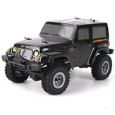 URUAV 1/24 2.4G 4WD Mini Rc Car Proportional مراقبة ضد للماء Crawler Electric Vehicle RTR نموذج