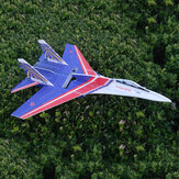 SU27 5mm PP 650mm Wingspan Glue-N-Go Foamboard RC Airplane Jet KIT