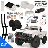WPL C24 1/16 2.4G 4WD Crawler Truck RC Car KIT Full Proportional Control