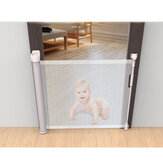 Retractable Baby Safety Fence 180 Degree Rotation for Multiple Home Occasions