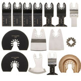 15pcs Saw Blades Kit for Rockwell Sonicrafter Worx Oscillating Multitool Accessory Oscillating Tools