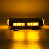 13Inch 24LED Car Roof Top Emergency Warning Strobe Light Bar 7 Flashing Pattern Beacon Lamp Waterproof Amber