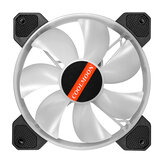 Fan Cooler PC Computer RGB Ajustar LED Fan Cooler 12V 6Pin 120mm Ventilador de refrigeración Disipador de calor Silent Fan Gaming Caso Cooler Fan With Controller
