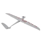 Maquinilla de afeitar 1600mm Envergadura Ensamblar Ala fija RC Avión RC Plane Blanco PNP