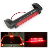 12V Universal Red 14 LED Car Auto Third 3rd Brake Rear Tail Light High Mount Fog Stop Warning Lamp