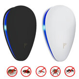 Loskii BR-04 2018 Enhanced Ultrasonic Plug-in LED Anti Mosquito Pest Insect Killer Repeller