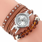 DUOYA D214 Crystal Casual Style Women Bracelet Watch