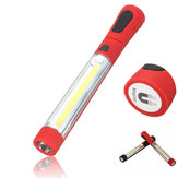 XANES WK-94 COB + LED Front & Side Light Magnetic Tail Adjustable Head Camping Light Work Light LED Flashlight