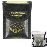 Dubbele Lipo Batterijen Veilige Zak Brandbestendige Explosievaste Opbergtas voor DJI Mavic PRO