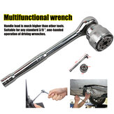 3/8'' Multifunctional Ratchet Quick Wrench Head Universal Socket Magic Wrench